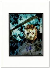 Kane Hodder Autograph Signed Photo - Jason Vorhees